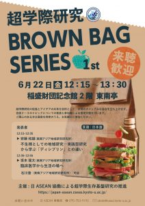 The 1st Transdisciplinary (TD) Brown Bag Series