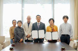 ベトナム・社会科学通信院との学術交流協定を締結しました(2018年11月13日)
