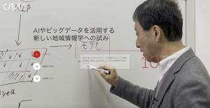 CSEASオンライン動画プログラム:「AIやビッグデータを活用する新しい地域情報学への試み」(原正一郎教授)を公開しました。